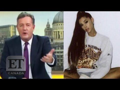Piers Morgan Responds To Ariana Grande, Ellen Diss