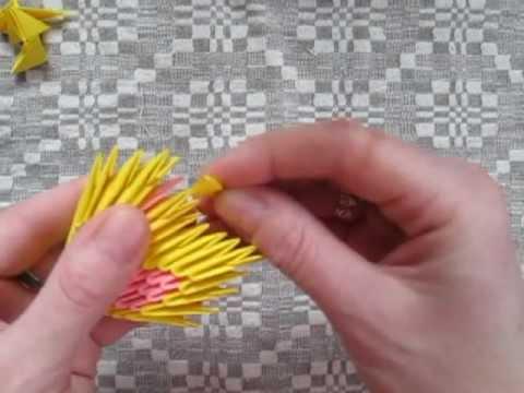 модульное оригами сердце