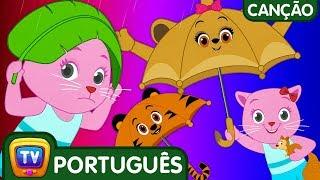 Chuva Chuva Vá Embora | Cutians | Canções infantis em Português | ChuChu TV