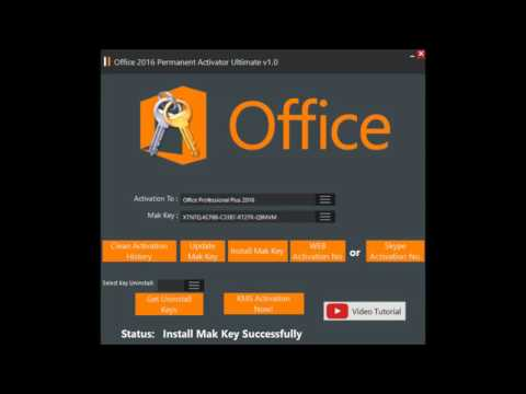 Office 2016 Permanent Activator Ultimate v1.2