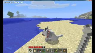 MineCraft: Plugins(WolfPound) and Wolves! (HD)