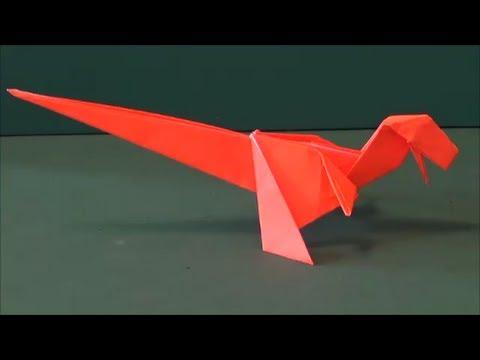 花 折り紙 折り紙 恐竜 簡単 : monogaku.com