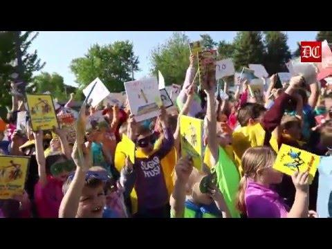 Hinckley - Big Rock Elementary School takes flight