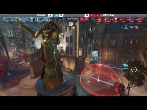 Vietnam vs Japan | Australia Goup Stage | Overwatch World Cup