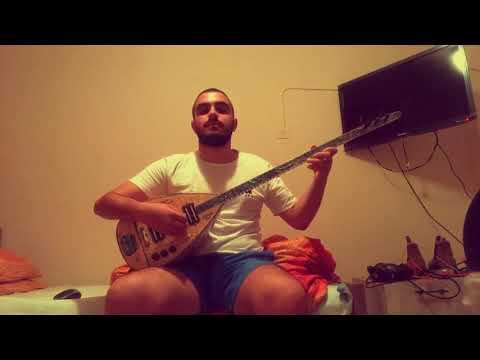 Omer Yona -shape of you  elektro baglama cover