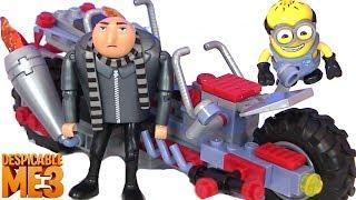 Скачать Гадкий Я 3 Босс Молокосос Миньоны Мультики Игры для детей Despicable Me 3 Видео для детей