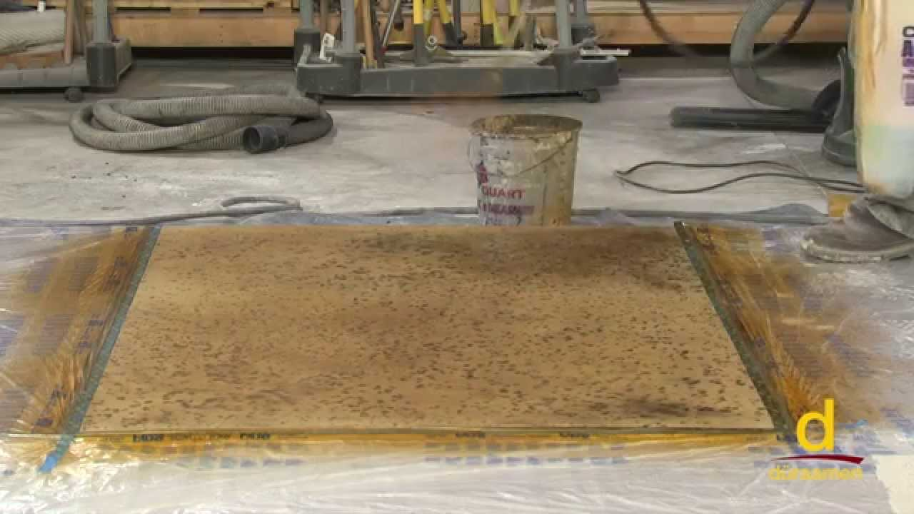 How to Polish Self-Leveling Concrete Topping - Part 6