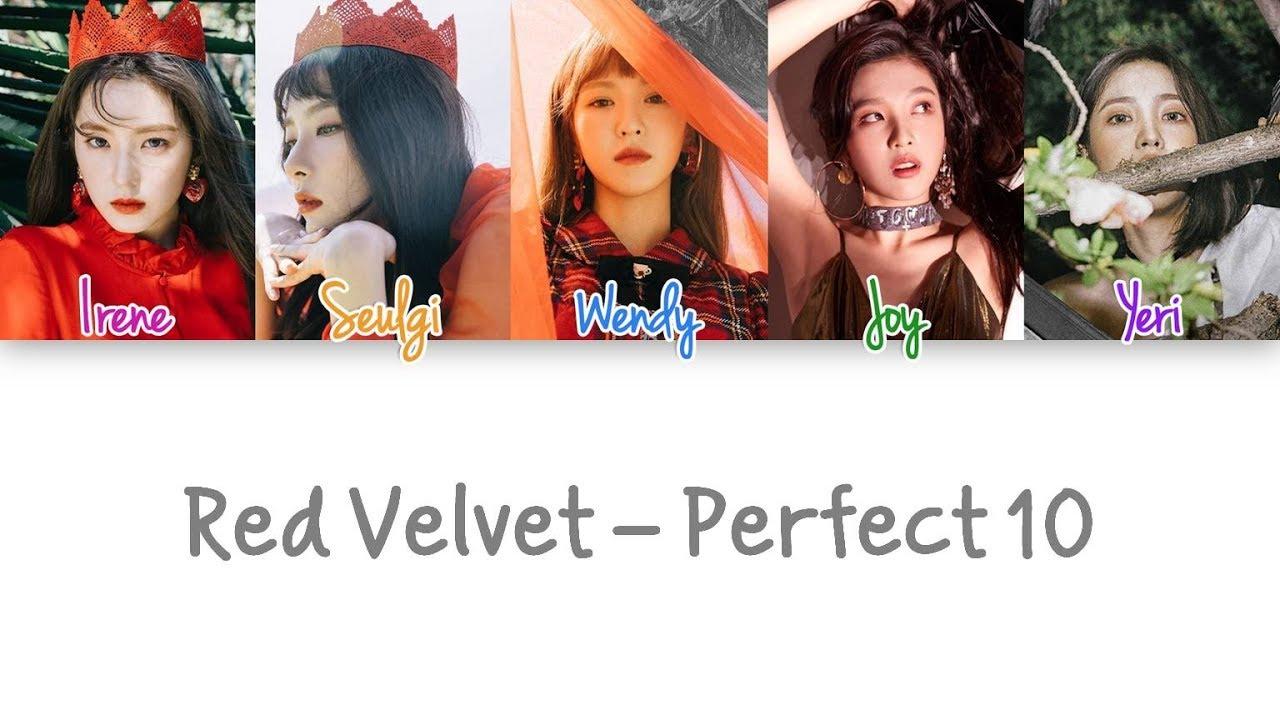 Red Velvet – Perfect 10