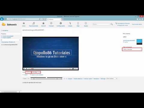 Instalar Y Configurar Servidor Streaming Subsonic