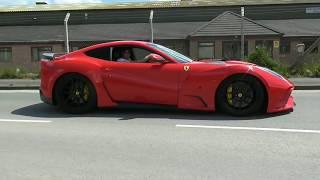 Ferrari F12 N-Largo S PURE F1 SOUND !!!