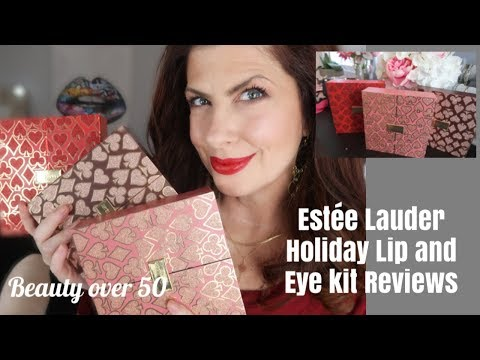 ESTÉE LAUDER HIGH ROLLER LADY LUCK HOLIDAY LIP AND EYE KITS