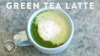 Matcha Green Tea Latte - Coffee Break Series - Honeysucklecatering