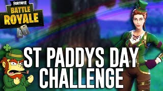 St Paddy's Day Challenge! All Green Everything! - Fortnite Battle Royale Gameplay - Ninja thumbnail