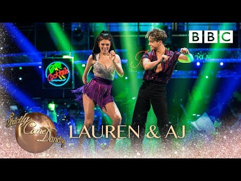 Lauren Steadman and AJ Pritchard Salsa to 'Familiar' Liam Payne and J Balvin - BBC Strictly 2018