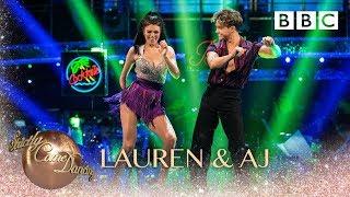 Lauren Steadman and AJ Pritchard Salsa to 39 Familiar 39 Liam Payne and J Balvin BBC Strictly 2018