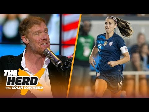 Alexi Lalas previews 2019 Women's World Cup, talks about the future of USMNT   SOCCER   THE HERD