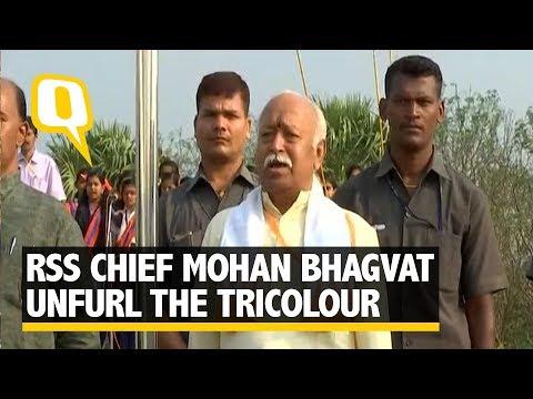Mohan Bhagwat Unfurls Flag in Kerala School | The Quint
