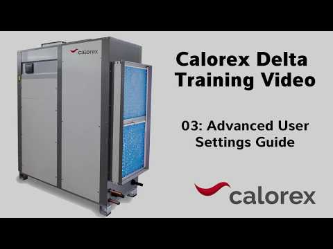 Training Video - 03 Advanced Settings Guide
