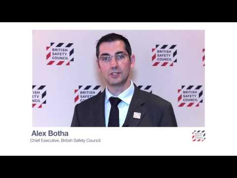 Alex Botha, Chief Executive, British Safety Council