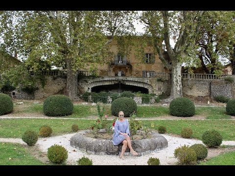 Movie Set of 'A Good Year' Movie Chateau La Canorgue, Provence