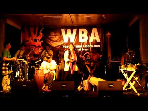 "Kunokini Live Perform ""Blue Yamko"" @ World Boxing Association (WBA)"