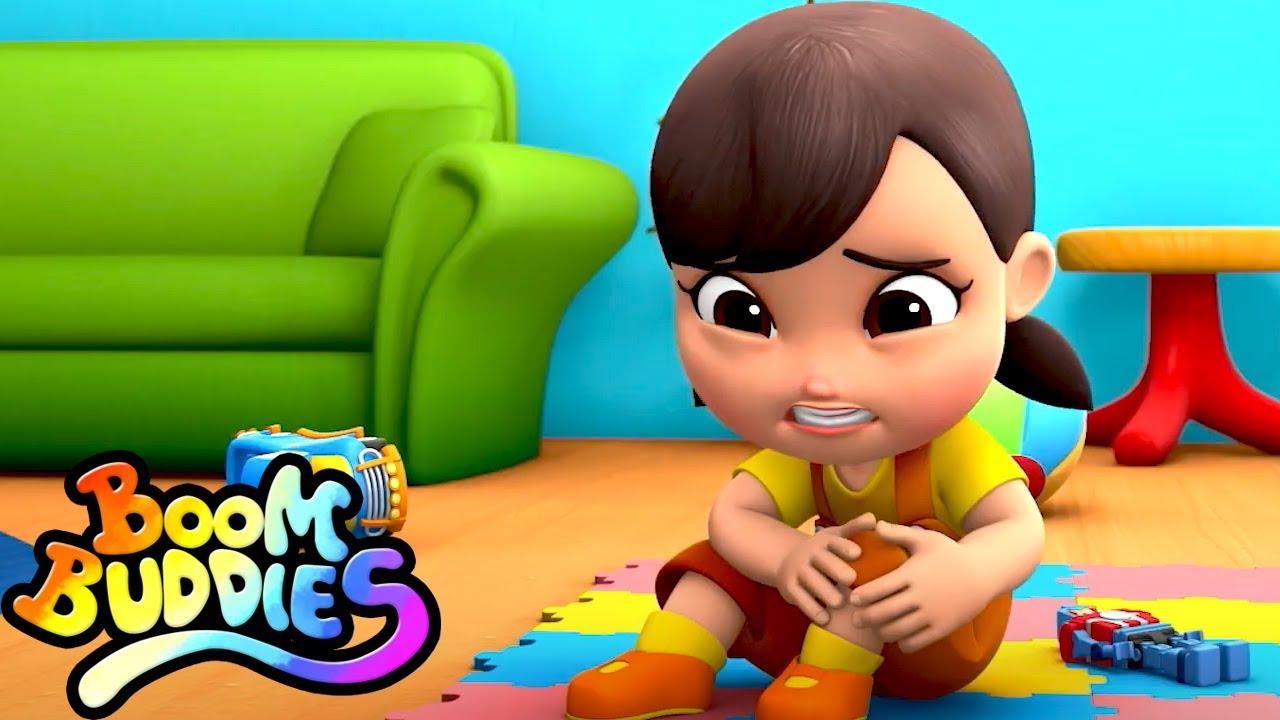 Canción de boo boo | Preescolar | Educación para niños | Boom Buddies Español | Dibujos animados