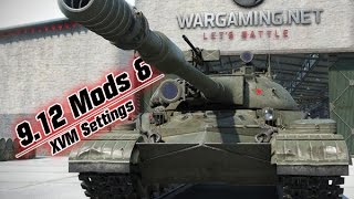 9.12 Mods & XVM Settings - Cold War Steel || World of Tanks