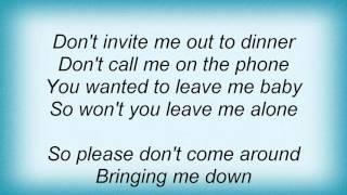 Macy Gray - Don't Come Around Lyrics