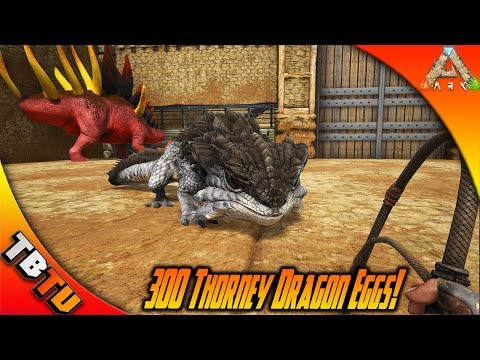 MASS THORNY DRAGON HATCHING! THORNY DRAGON MUTATIONS!  Ark Survival Evolved Scorched Earth