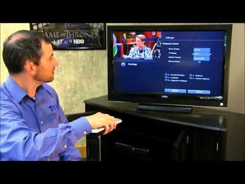 Setting Up Parental Controls TCC IP Cable