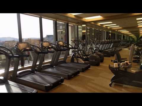 Golden Nugget: Spa and Gym Facilities - Las Vegas, Nevada [Travelling Foodie]
