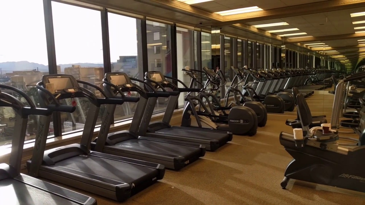 Where to stay in las vegas nevada: golden nugget spa and gym