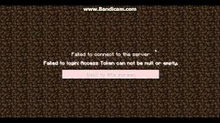 Failed to login: Access Token can not be null or empty {How To Fix HElp Plss!!}
