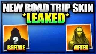 *NEW LEAKED* SEASON 5 ROAD TRIP SKIN IN FORTNITE REVEALED (HOW TO UNLOCK ROAD TRIP SKIN CHALLENGES)