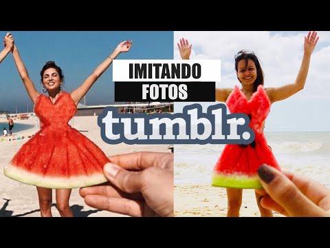 IMITANDO FOTOS TUMBLR #5 (NA PRAIA) | RÊ ANDRADE