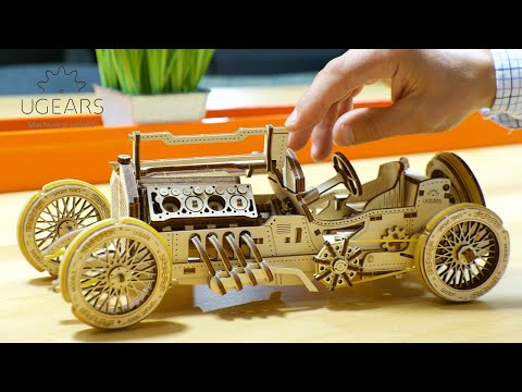 UGEARS: self-propelled mechanical wooden models | Indiegogo