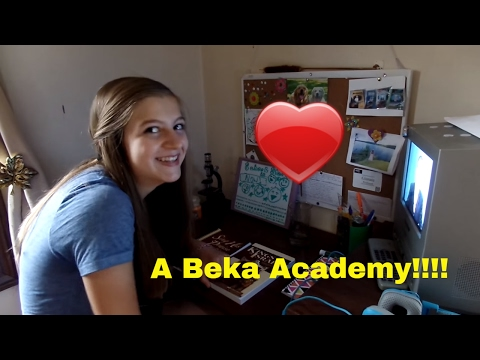 First day of school 2016| A beka Academy