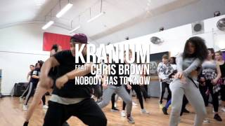 Gambar cover | Kranium feat. Chris Brown Nobody Has To Know Remix | Steven Pascua Choreography |