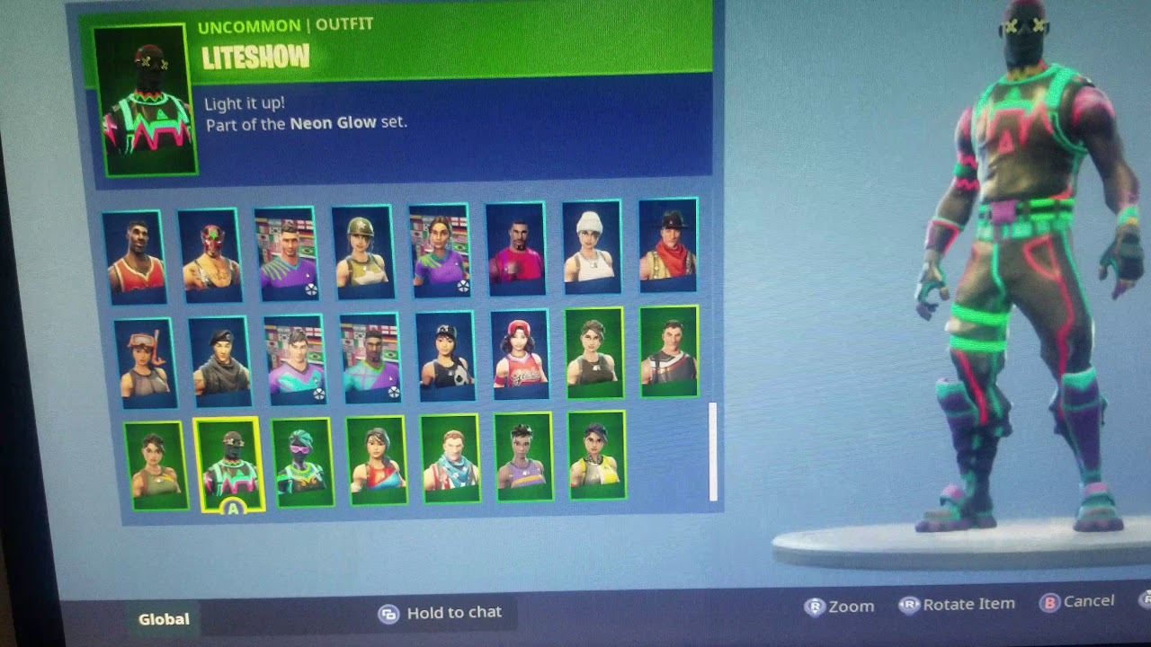 Fortnite account for sale 80+ skins tier 100 xbox one ...