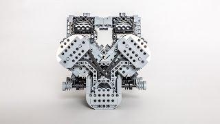 Lego W16 Bugatti Veyron Engine by Solde