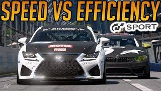 Gran Turismo Sport: Speed Vs Fuel Efficiency