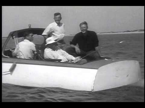 President Roosevelt Fishes in the Gulf