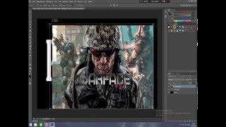 Photoshop CS6 | КАК ВСТАВИТЬ КАРТИНКУ В ТЕКСТ(Всем привет.В этом видео я показываю как вставить картинку в текст. Возможно пригодится для тех кто хочет..., 2016-01-28T23:02:10.000Z)