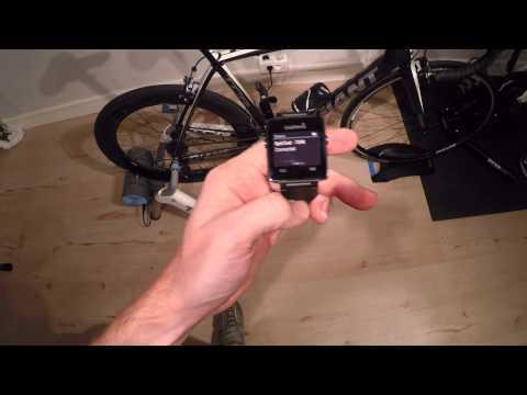 Garmin Vivoactive with Indoor Cycling & ANT+ Bike Sensors