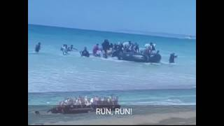 END DAYS: African migrants storming the beaches of Europe