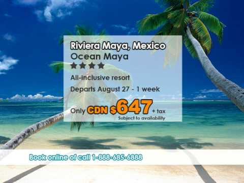Ocean Maya, Riviera Maya vacation deal from Edmonton