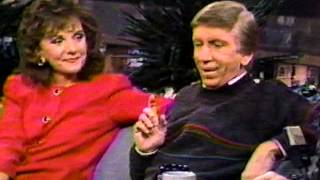 Dawn Wells & Bob Denver on the Pat Sajak Talk Show - Dec. 1, 1989