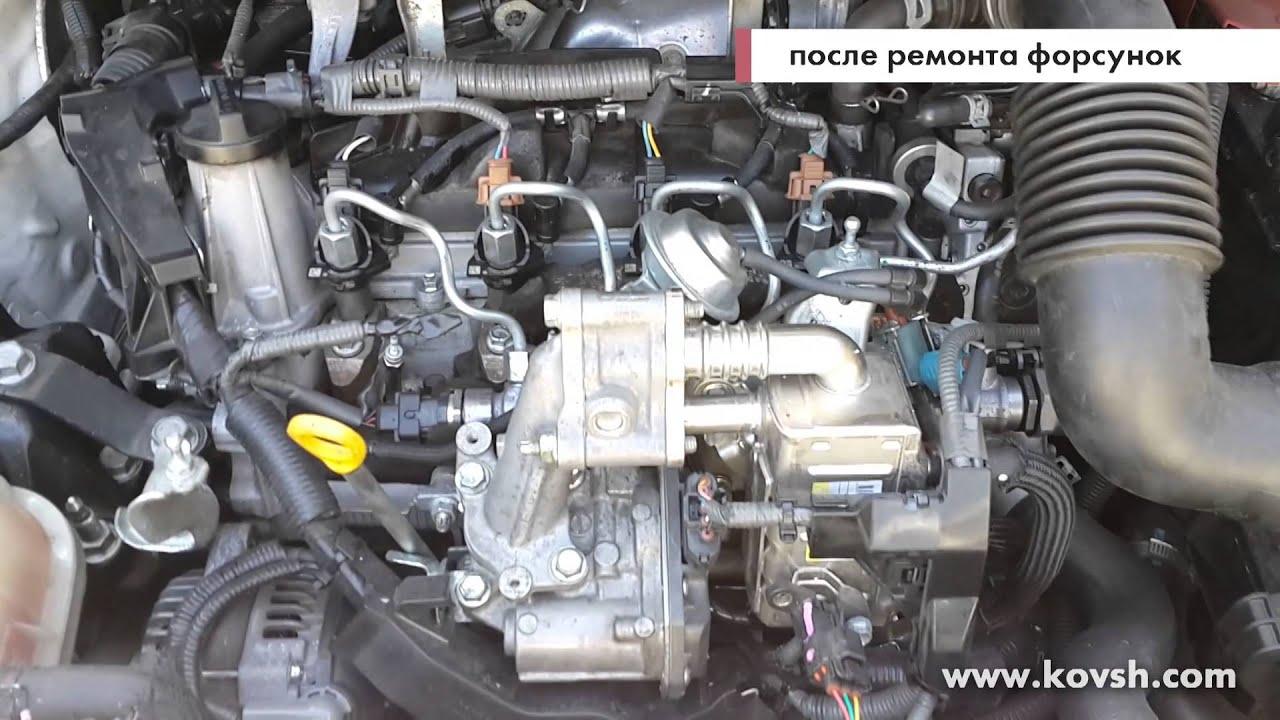 Перебои в работе двигателя Toyota D4D по вине форсунок