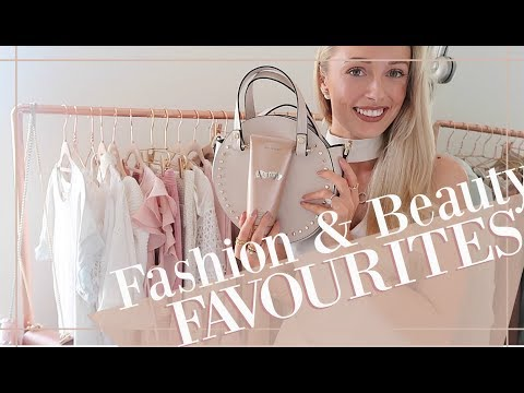 CURRENT FASHION & BEAUTY FAVOURITES // Fashion Mumblr