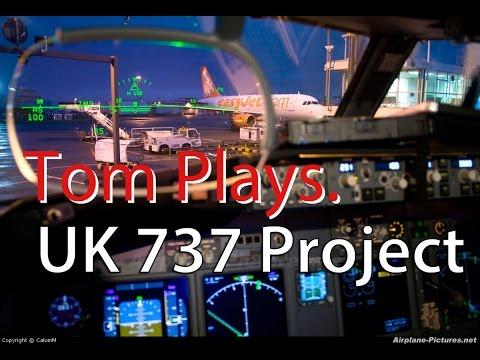 UK 737 Project 737-800 Home Simulator #8
